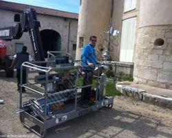 Josselin JM - Villers-sur-Meuse - Nos réalisations - Installation d'épis en zinc